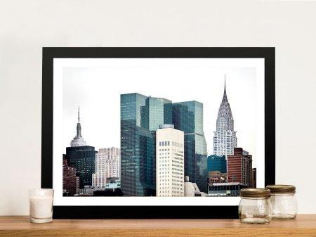 Buy The Skyscrapers Artwork by Hugonnard