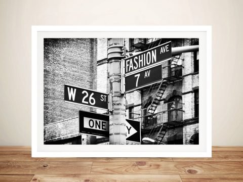 Buy a Print of Fashion Avenue by Hugonnard