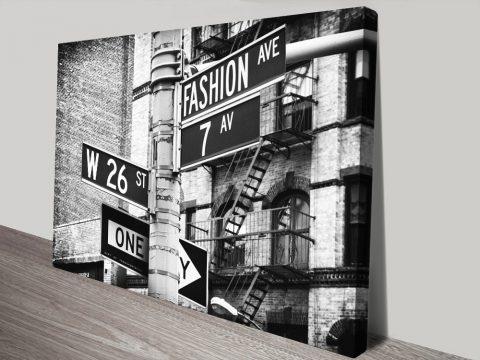 Fashion Avenue Canvas Art Great Gift Ideas AU