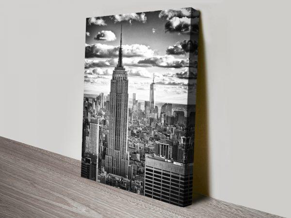 Buy Manhattan Cityscape Affordable Canvas Art AU