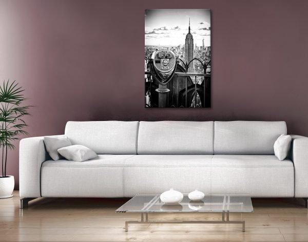 Observatoire Deck Wall Art by Philippe Hugonnard