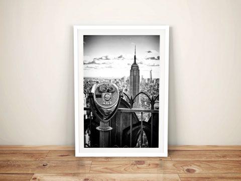 Buy a Print of Observatoire Deck New York