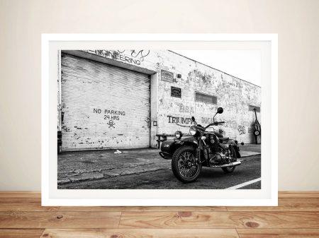 Buy a Framed Canvas Print of Brooklyn