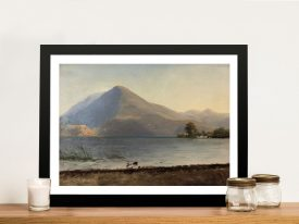 Buy On The Hudson Bierstadt Landscape Art