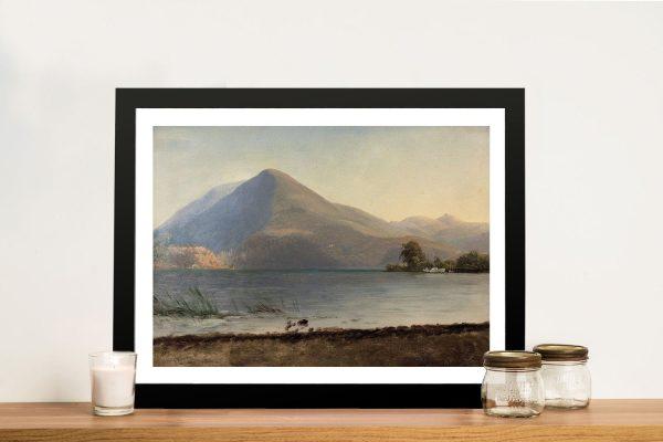 Buy On The Hudson Bierstadt Landscape Art