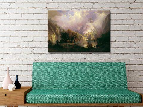 Buy Albert Bierstadt Landscape Wall Art Online