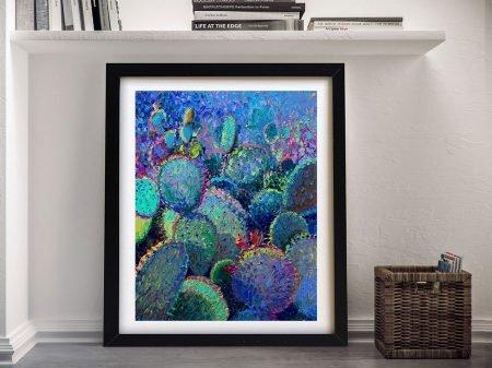 Cactus Refractus Iris Scott Framed Wall Art