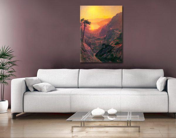 Buy Donner Lake Cheap Landscape Artwork AU