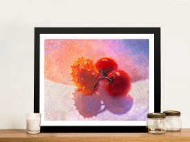 Buy a Canvas Print of Fruit Bowl by Iris Scott