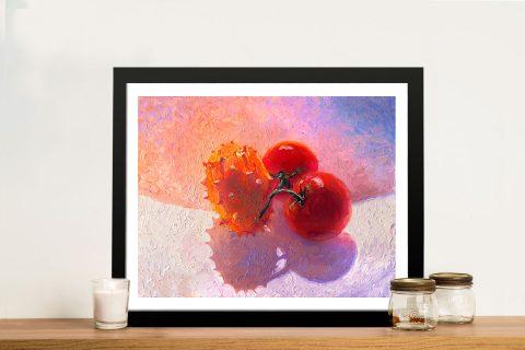 Buy a Canvas Print of Fruit Bowl by Iris Scott