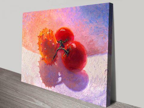 Buy Fruit Bowl Colourful Painting Prints by Iris Scott