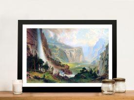 Buy Half Dome in Yosemite Canvas Art