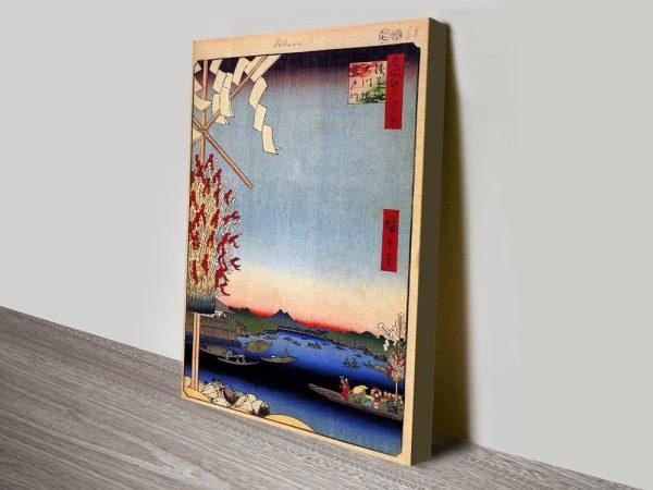 Buy Asakusa River Cheap Japanese Artwork Online