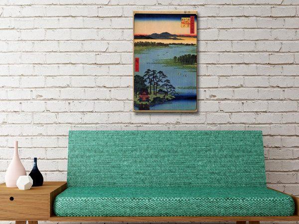 Buy Benten Shrine Canvas Art Gift Ideas AU
