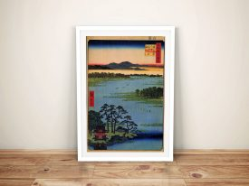 Buy a Framed Print of Hiroshige's Benten Shrine
