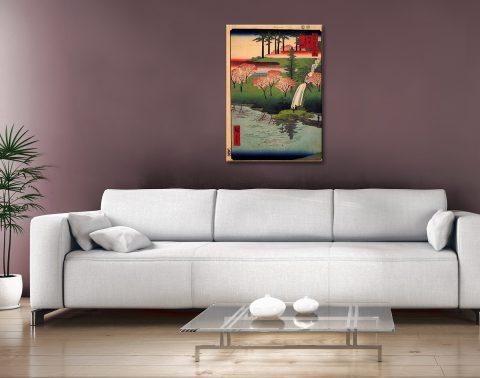 Buy Hiroshige's Chiyogaike Pond Gift Ideas AU
