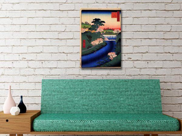Buy Hiroshige Canvas Art Unique Gifts Online