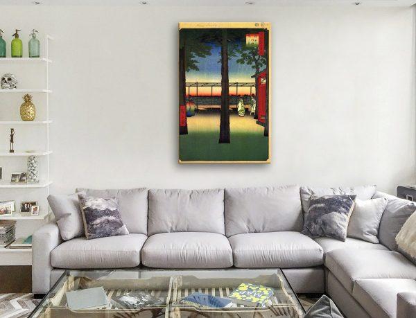 Buy Cheap Hiroshige Japanese Canvas Art AU