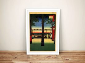 Buy a Print of Dawn at Kanda Myojin Shrine