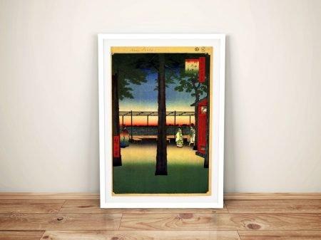 Buy a Print of Dawn at Kanda Myojin Shrine