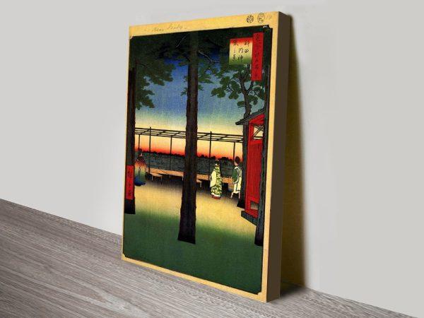 Dawn at Kanda Myojin Shrine Japanese Art Online