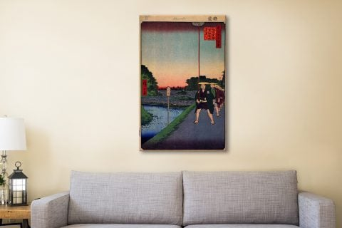 Buy Hiroshige Canvas Prints Perfect Gifts AU