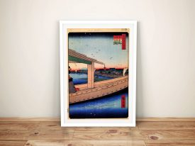 Buy Distant View of Kinryuzan Temple Wall Art