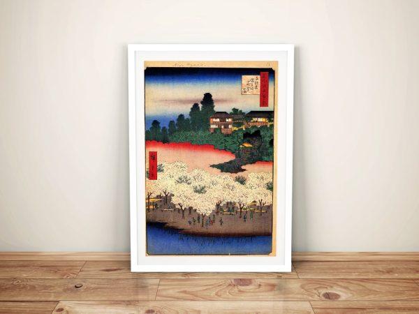 Buy Flower Pavillion Hiroshige Japanese Art