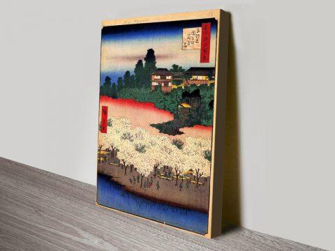 Buy Flower Pavillion Cheap Japanese Wall Art Online