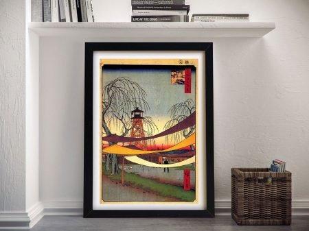 Buy Hatsune Riding Grounds Framed Artwork