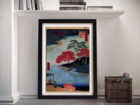 Buy Inside Akiba Shrine Japanese Framed Art