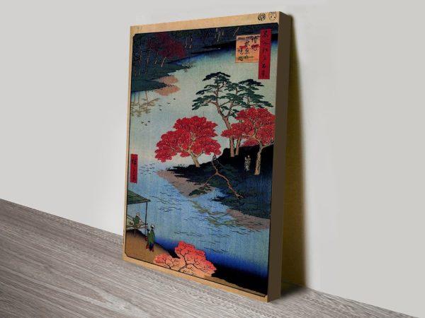 Buy a Print of Inside Akiba Shrine by Hiroshige
