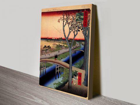 Buy Koume Embankment Japanese Canvas Art AU