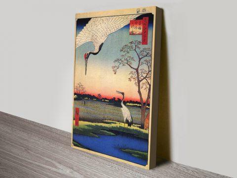 Minowa Kanasugi Hiroshige Art Cheap Online