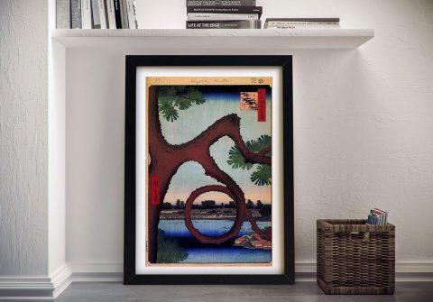 Buy Moon Pines Hiroshige Japanese Art