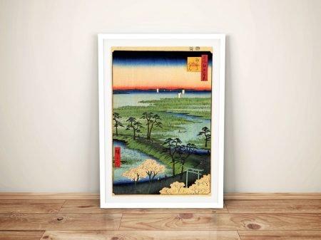 Buy a Canvas Print of Moto Hachiman Shrine