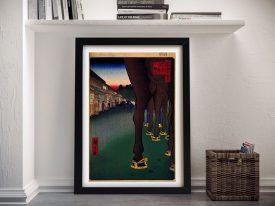 Buy a Print of Naito Shinjuku by Hiroshige