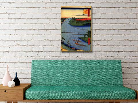 Buy Nakagawa River Mouth Art Perfect Gifts AU