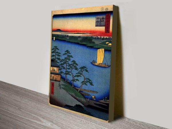 Buy Nijuku Ferry Wall Art Cheap Japanese Art AU
