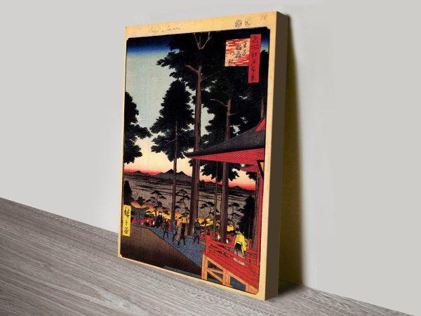 Buy Oji Inari Shrine Classic Art Gift Ideas AU