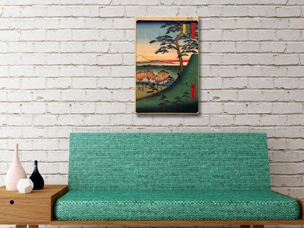 Buy Original Fuji Artwork Cheap Japanese Art AU