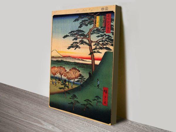 Buy Original Fuji Scenic Artwork by Hiroshige AU