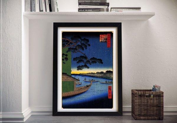 Pine of Success Japanese Canvas Wall Art