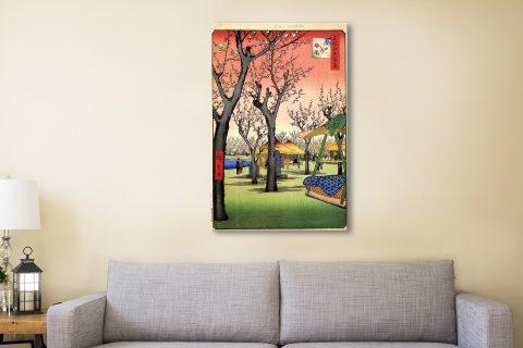Buy Plum Garden Japanese Art Gift Ideas Online