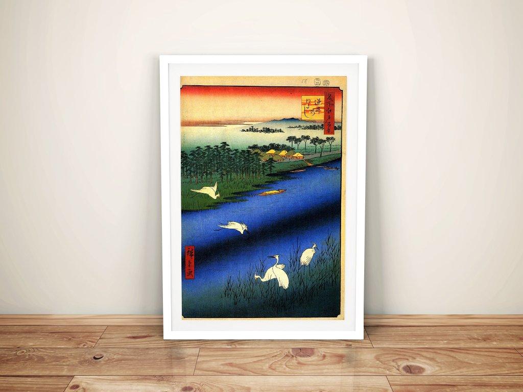 Buy a Framed Canvas Print of Sakasai Ferry