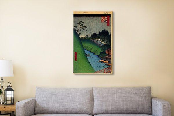 Buy a Seido and Kanda River Print Gift Ideas AU