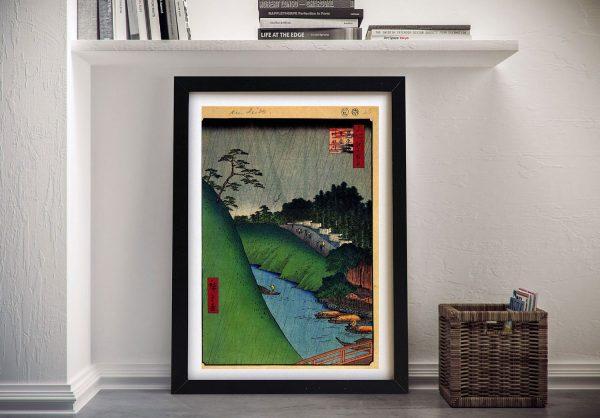 Buy Seido and Kanda River Framed Wall Art