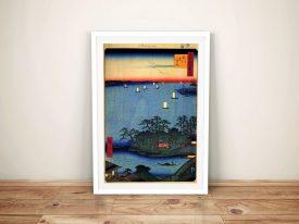 Buy Shinagawa Susaki Wall Art by Hiroshige