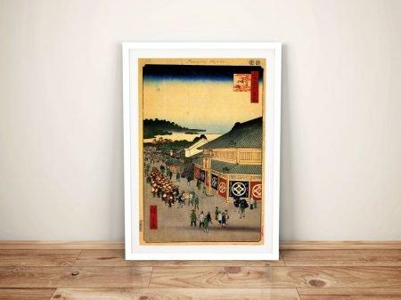 Buy Shitaya Hirokoji Japanese Canvas Wall Art