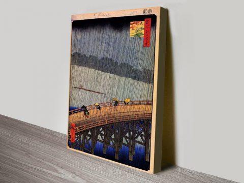Buy Utagawa Hiroshige Stretched Canvas Art AU